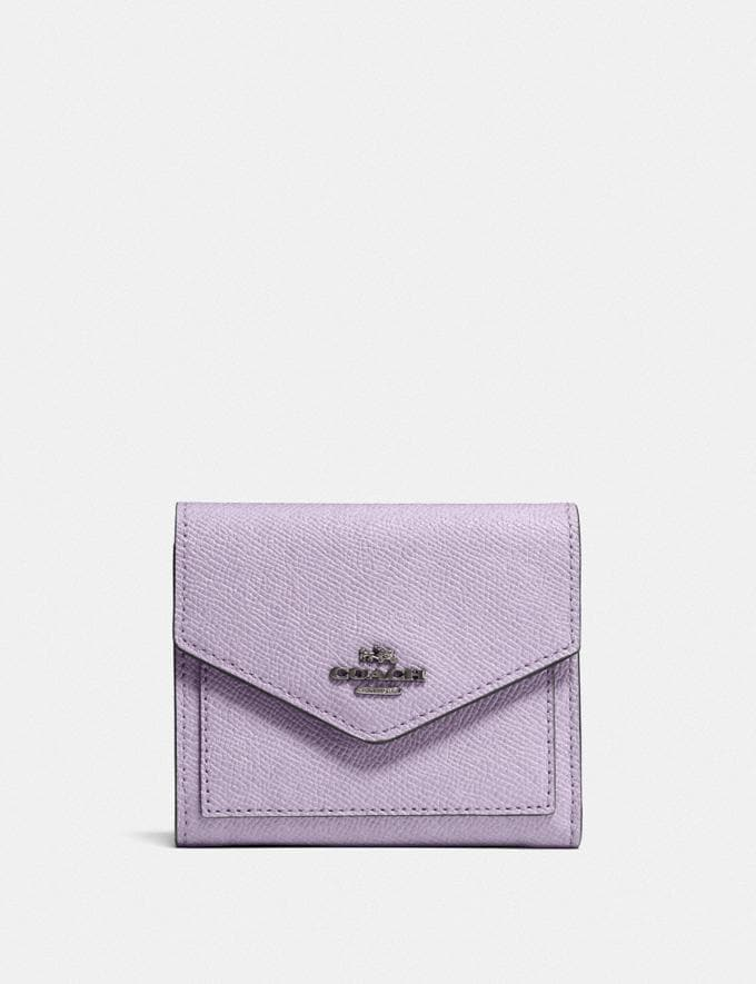 Coach Small Wallet V5/Soft Lilac New Women's New Arrivals