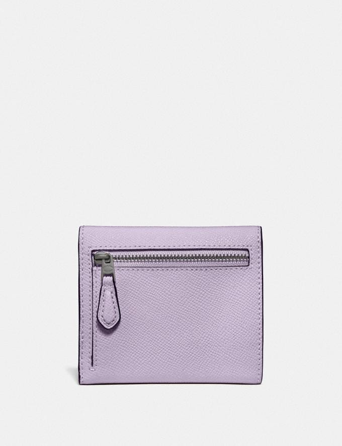 Coach Small Wallet V5/Soft Lilac New Women's New Arrivals Small Leather Goods Alternate View 1