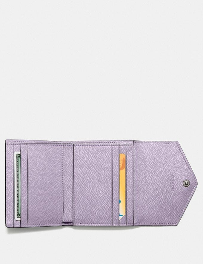 Coach Small Wallet V5/Soft Lilac New Women's New Arrivals Alternate View 2