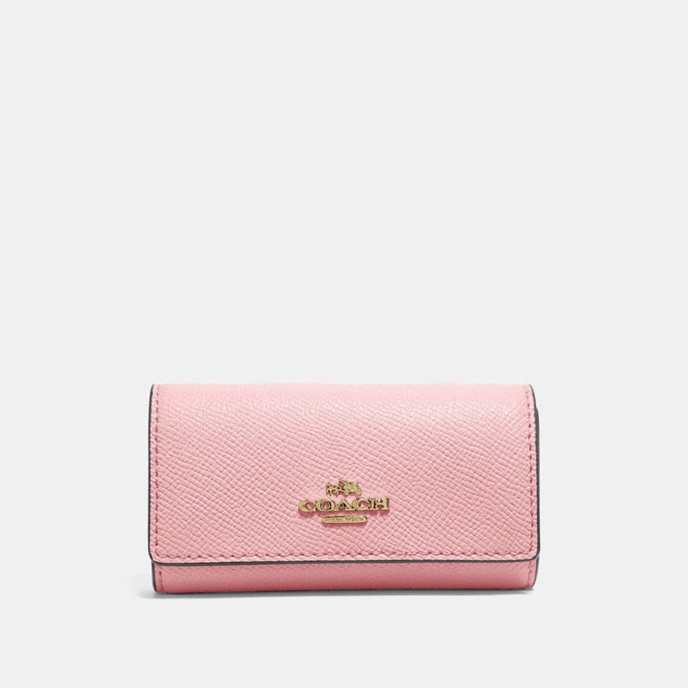 Coach Six Ring Key Case - Women'S in Blossom/Gold