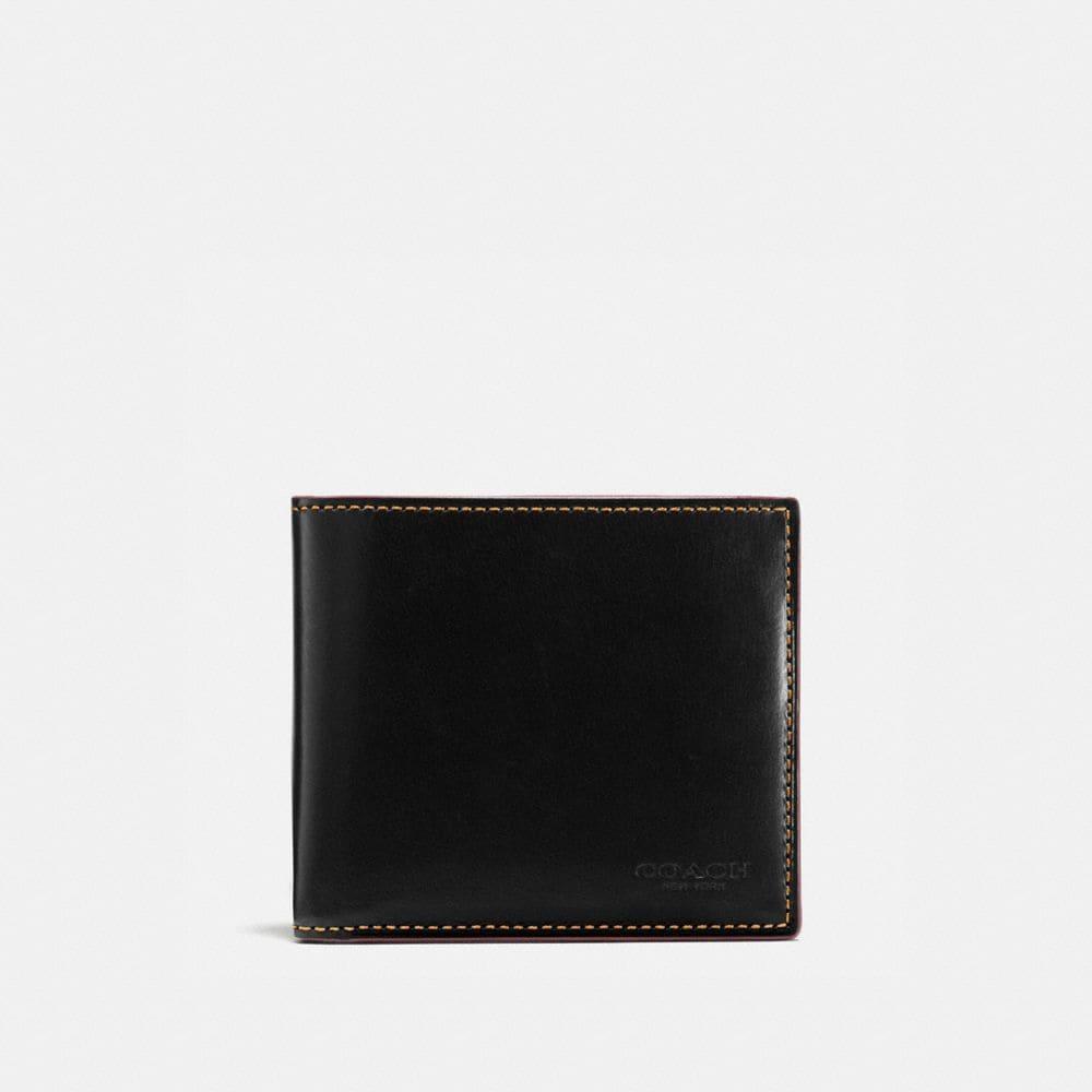 boxed double billfold wallet