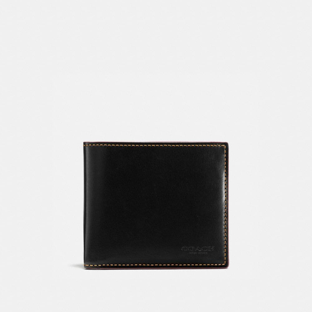 DOUBLE BILLFOLD IN WATER BUFFALO LEATHER