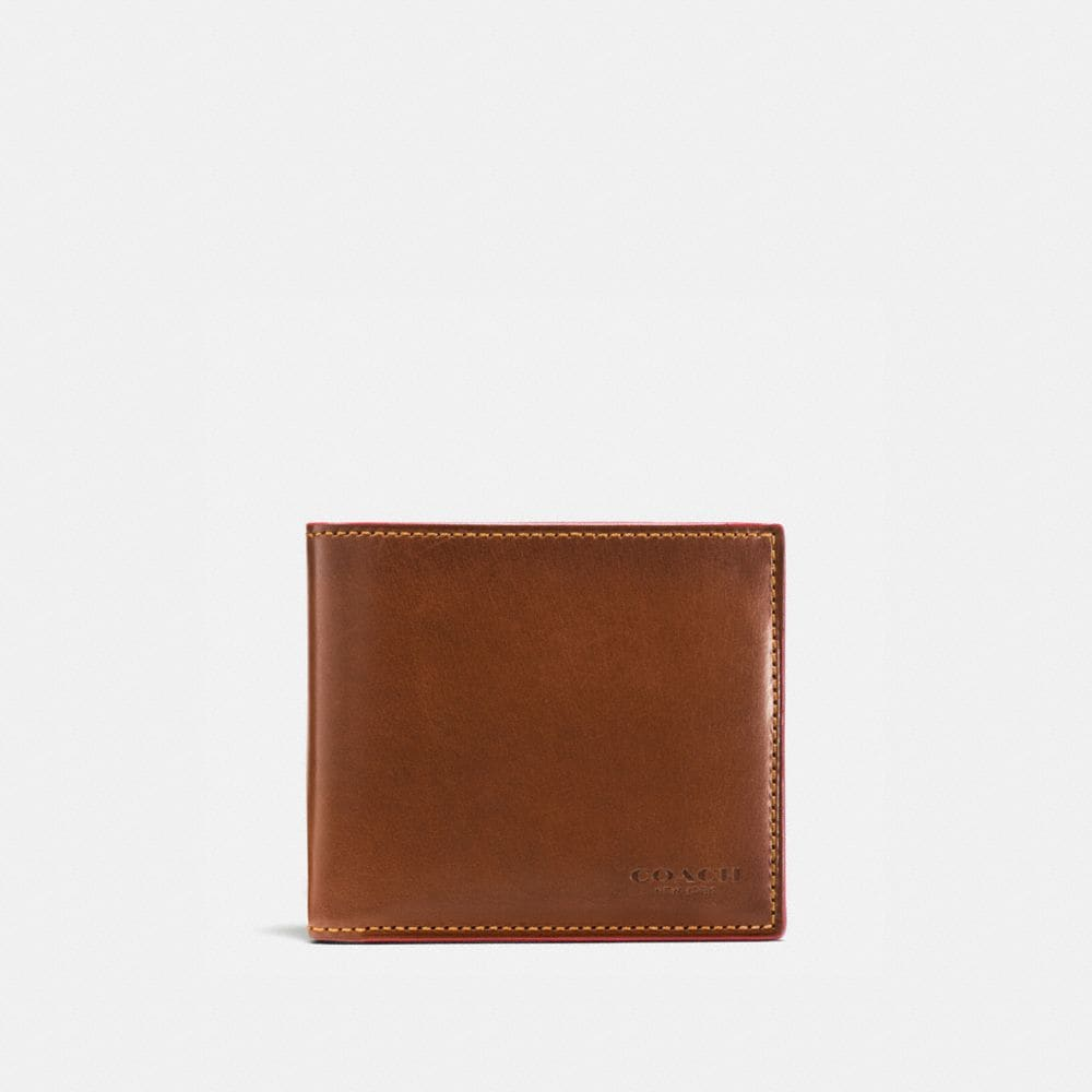 BOXED DOUBLE BILLFOLD WALLET