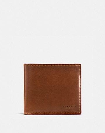 b29435740c Men's Leather Wallets | COACH ®