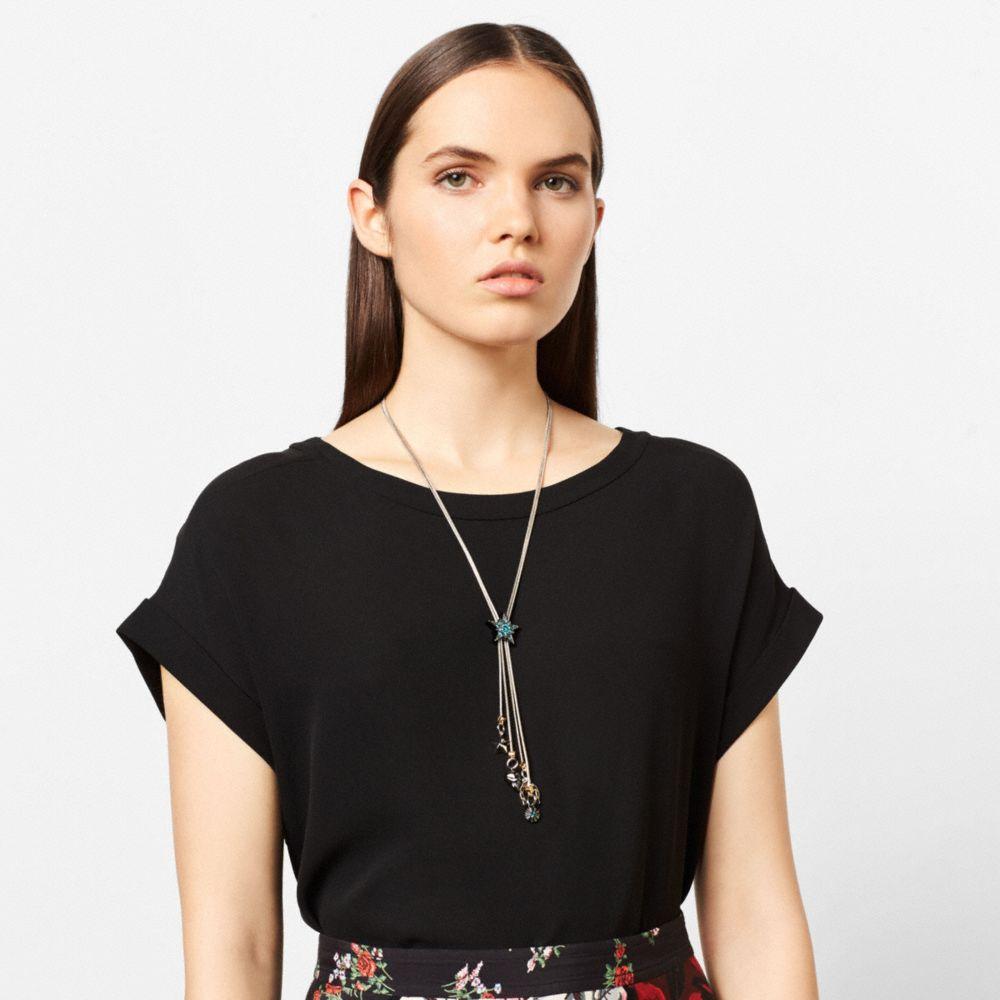 Western Embellished Bolero Necklace - Alternate View A1