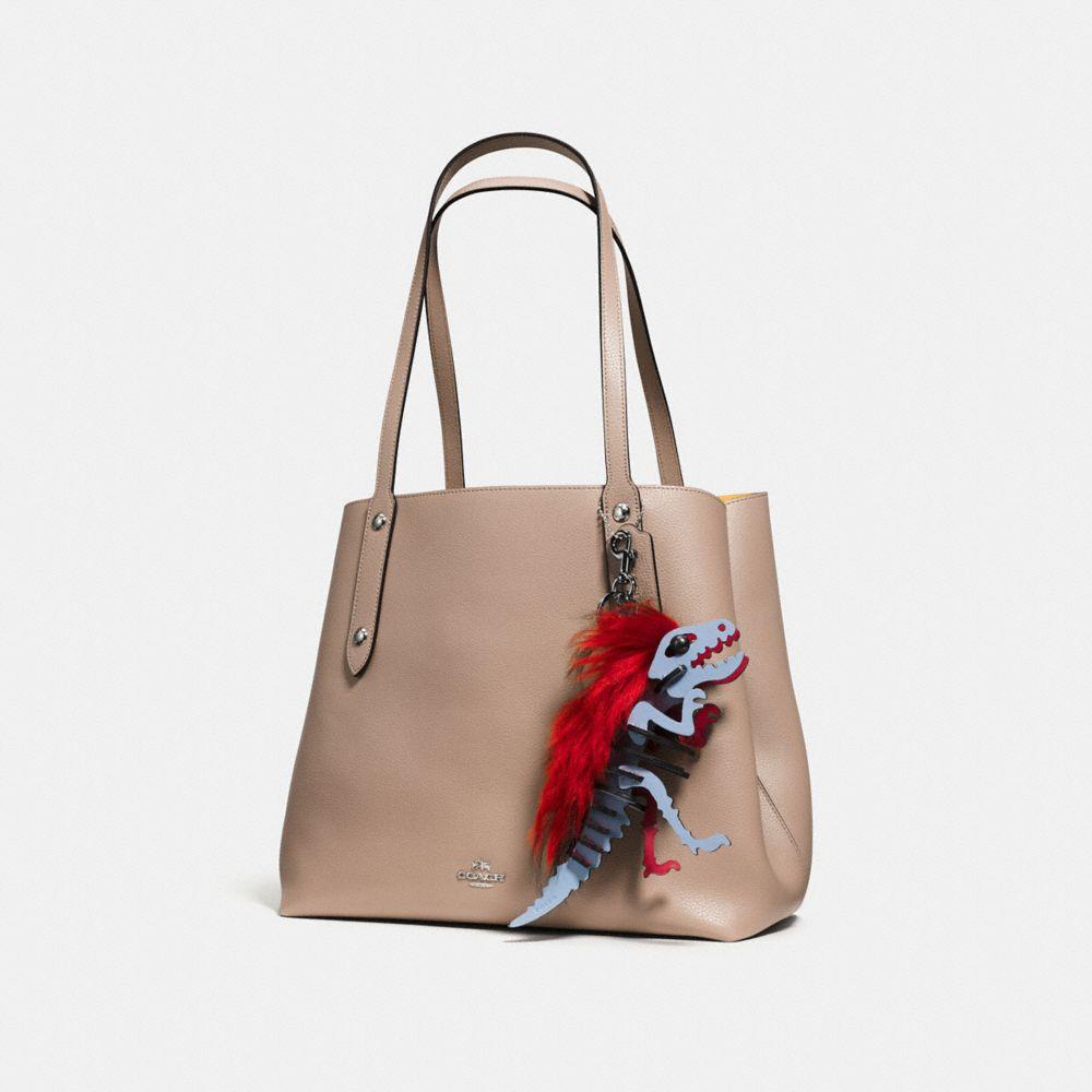 Coach Medium Mohawk Rexy Bag Charm Alternate View 1