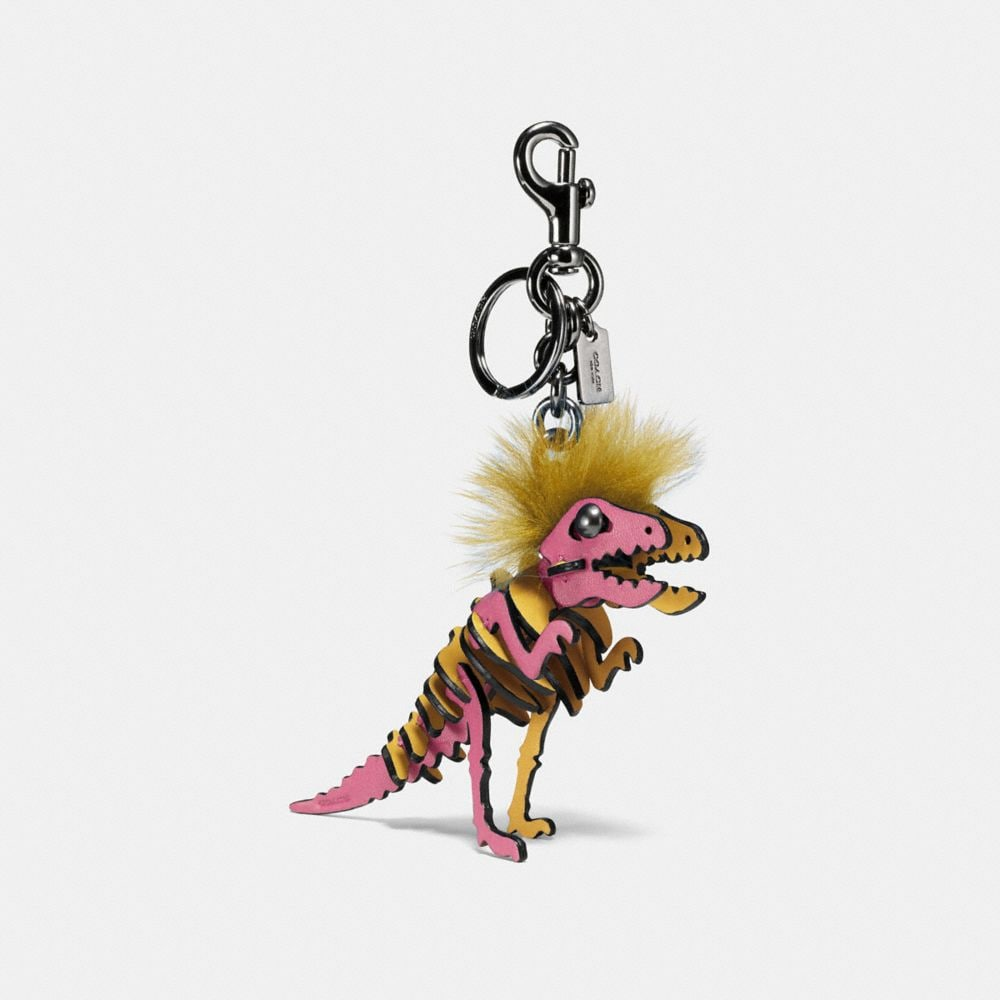 Coach Small Mohawk Rexy Bag Charm