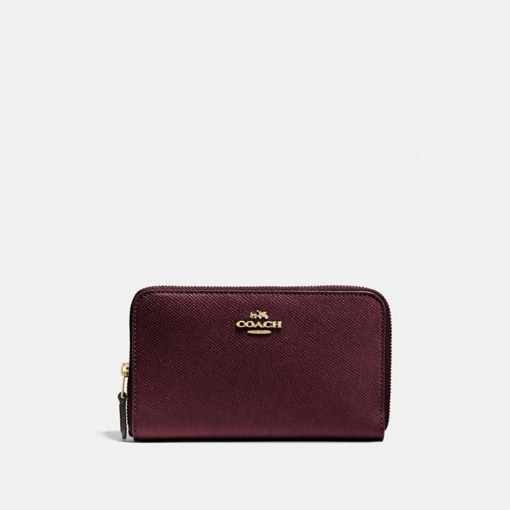 Coach Medium Zip Around Wallet