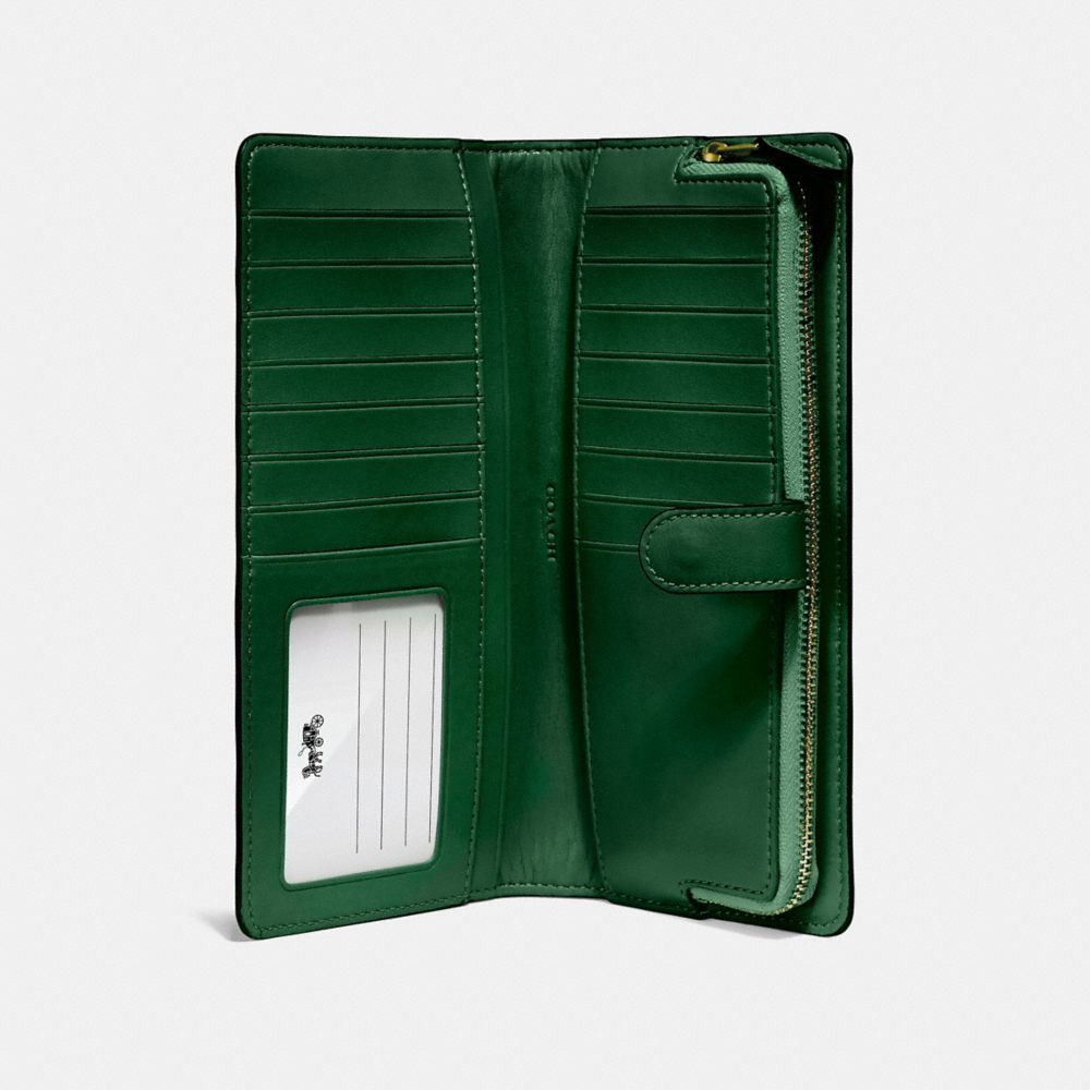 Coach Skinny Wallet Alternate View 1
