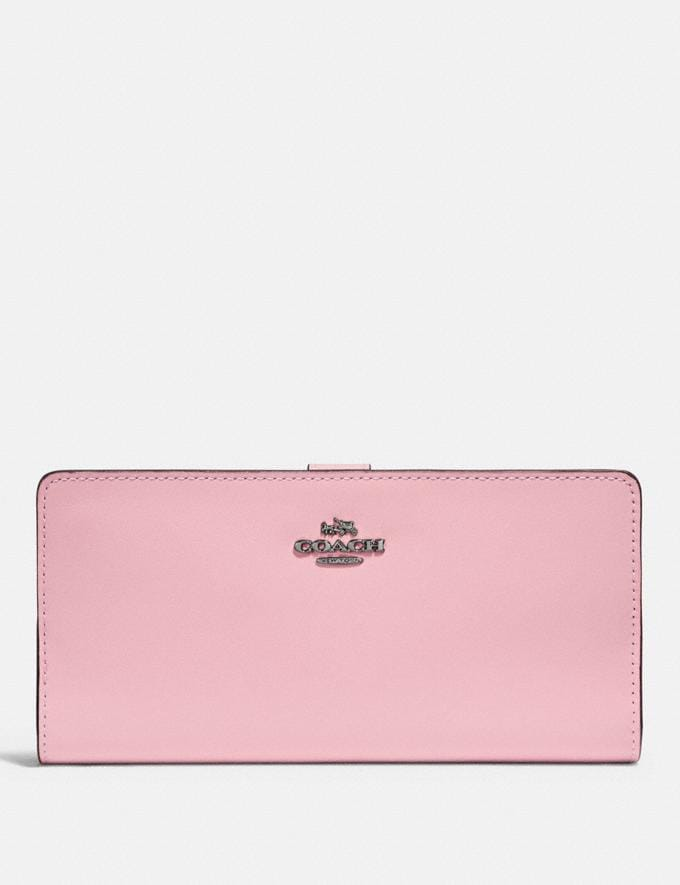 Coach Skinny Wallet Pewter/Aurora Gifts For Her Under $300