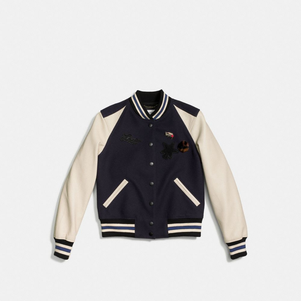 Icon Varsity Jacket - Alternate View A1