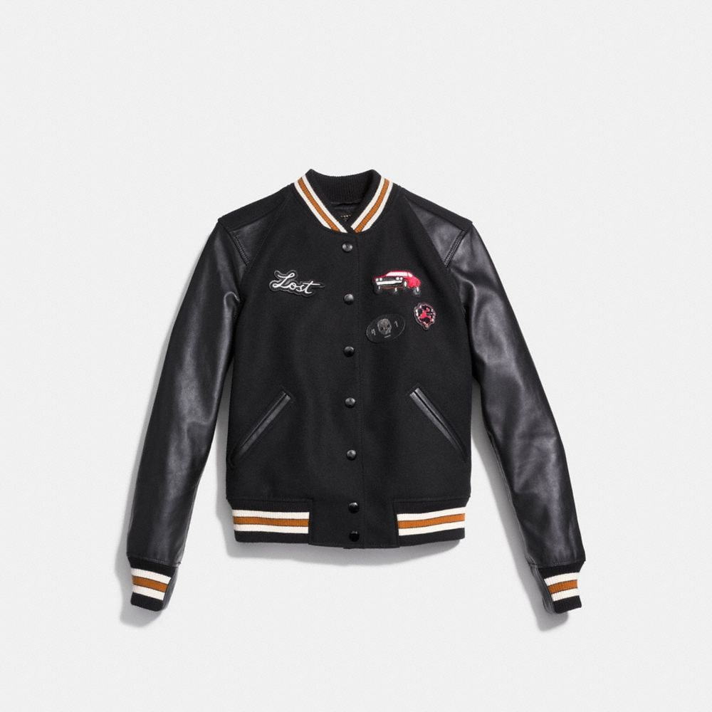 Coach Varsity Jacket Alternate View 1