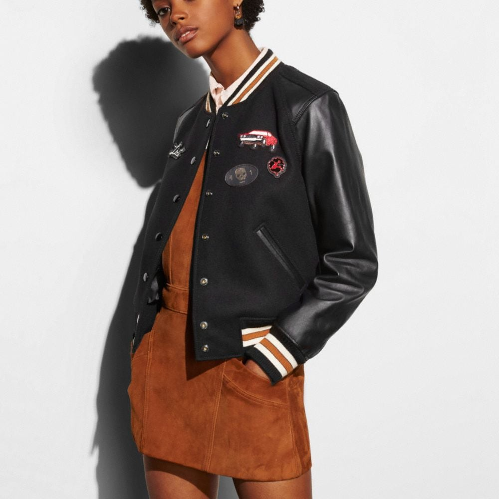Coach Varsity Jacket Alternate View 2