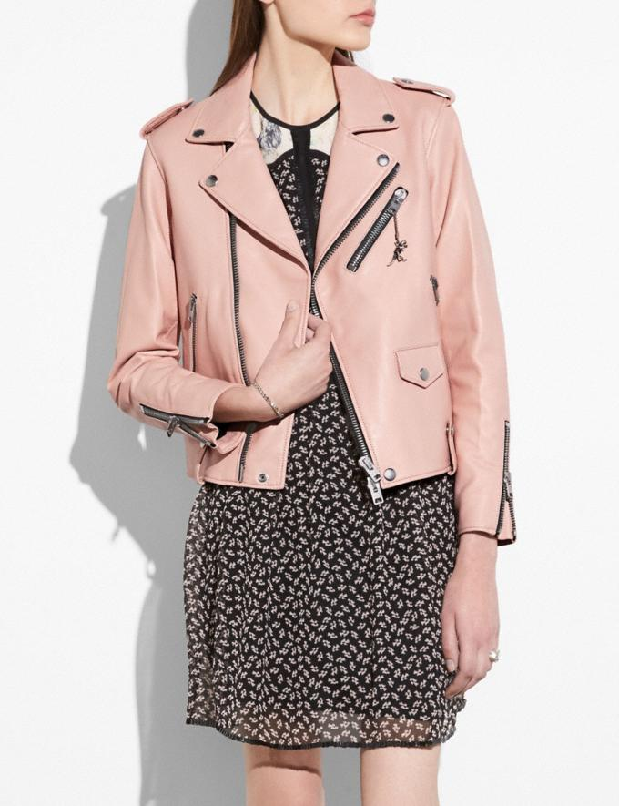 Coach Moto Jacket Powder Pink Gifts For Her Bestsellers Alternate View 1