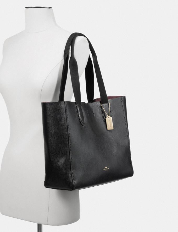 Coach Derby Tote Im/Blossom Wine Deals Alternate View 2