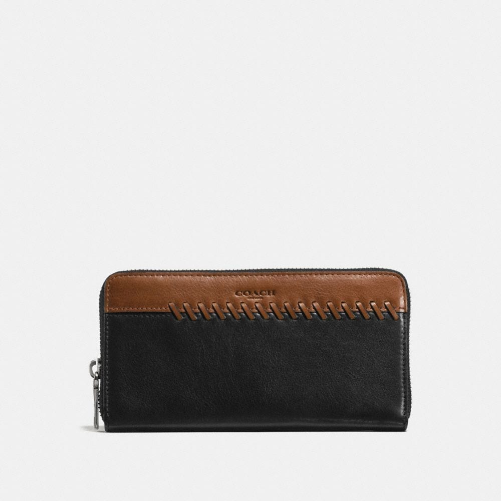 Coach Rip and Repair Accordion Wallet