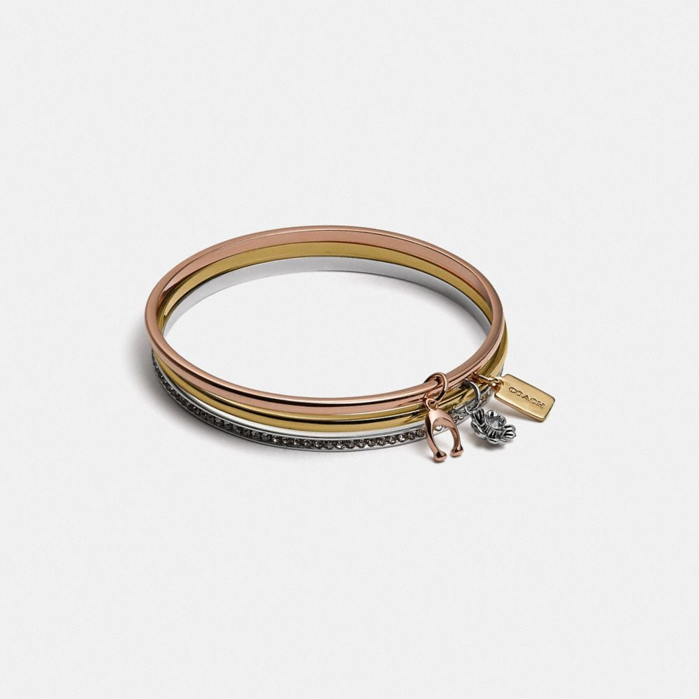 Coach Coach Signature Bangle Set