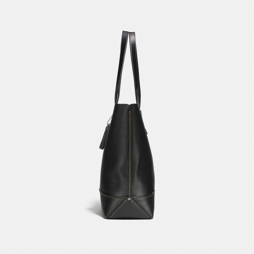 Coach Gotham Tote in Glove Calf Leather With Gnarly Face Print Alternate View 1