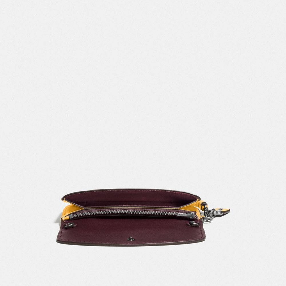 Clutch in Glovetanned Leather - Autres affichages A1