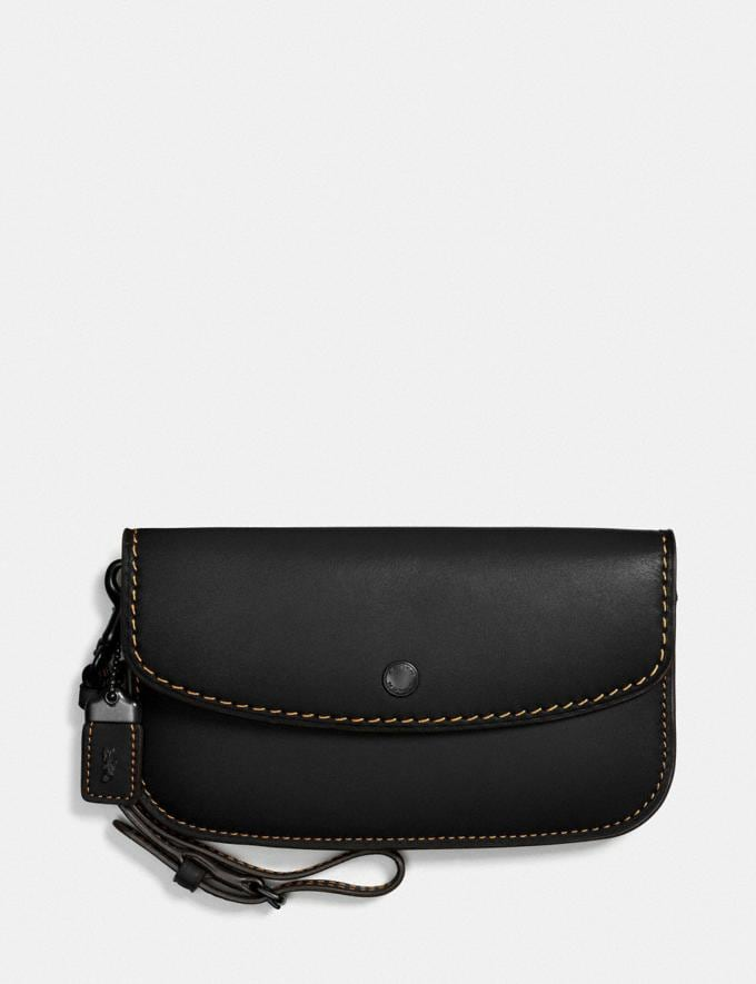 Coach Clutch Black/Black Copper Cyber Monday Women's Cyber Monday Sale Wallets & Wristlets