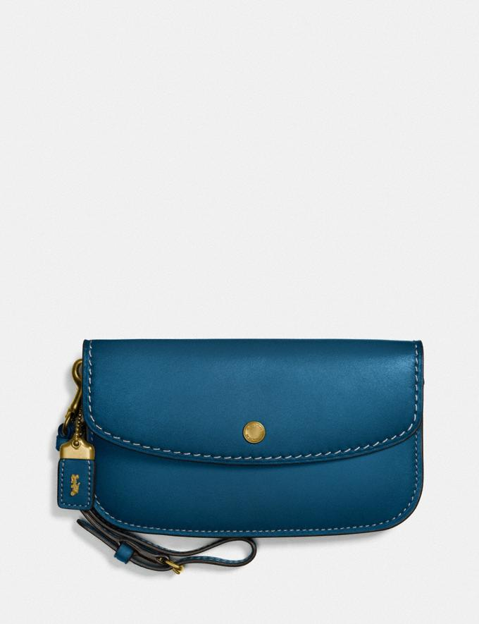 Coach Clutch Ol/Dark Denim Personalise For Her Wallets