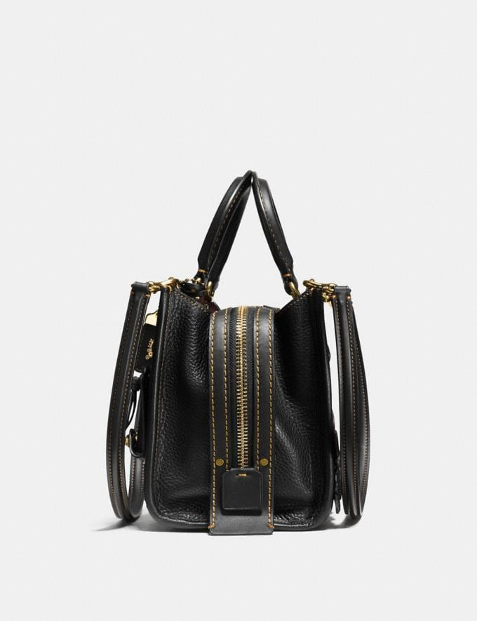 Coach Rogue 25 With Tea Rose Black/Brass SALE Women's Sale Bags Alternate View 1