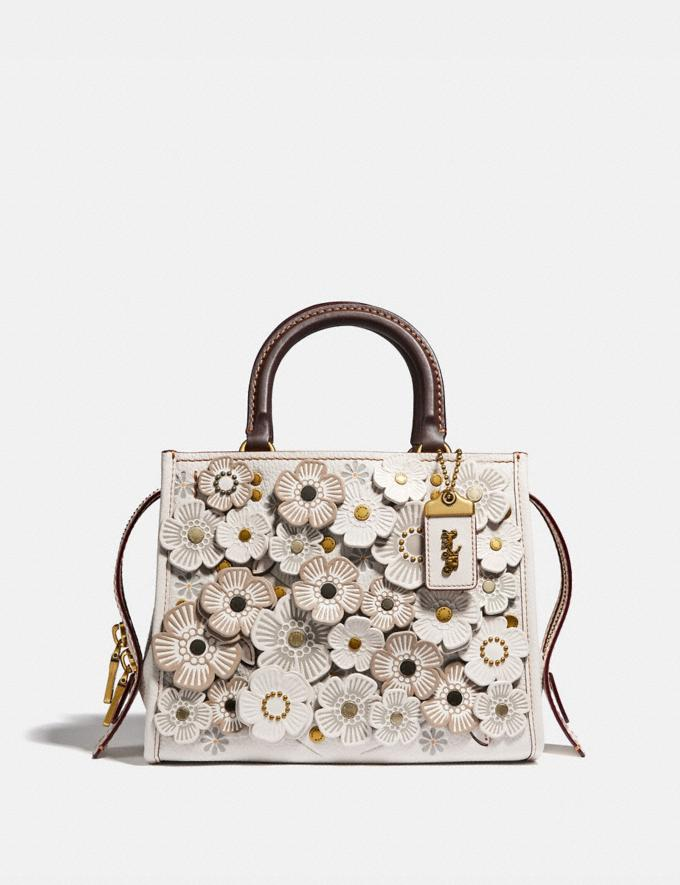 Coach Rogue 25 With Tea Rose Brass/Chalk SALE Women's Sale New to Sale New to Sale