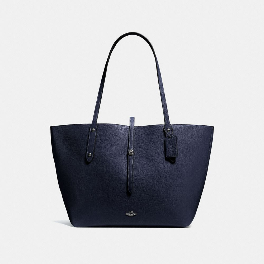 MARKET TOTE IN POLISHED PEBBLE LEATHER