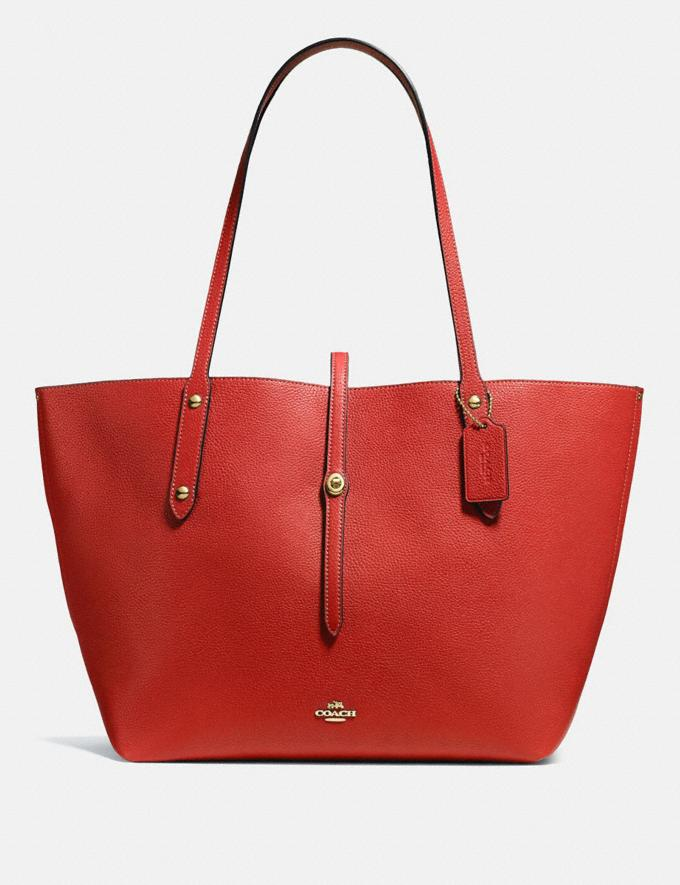 Coach Market Tote Jasper/Gold Gifts For Her