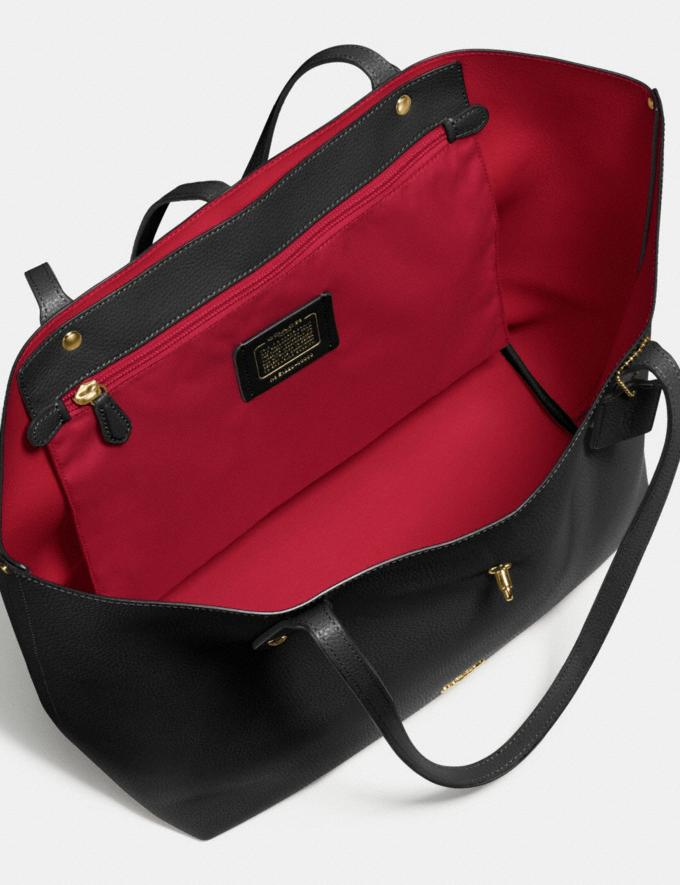 Coach Market Tote Li/Black/True Red  Alternate View 2