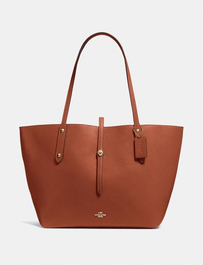 Coach Market Tote 1941 Saddle/Light Gold SUMMER SALE Women's Sale Bags
