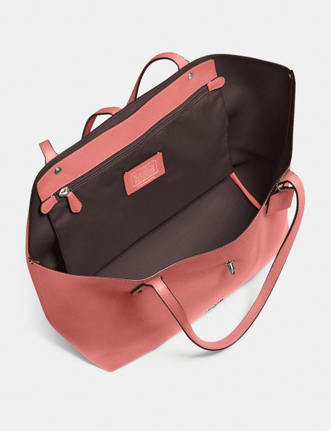 Coach Market Tote Bright Coral/Silver Gifts For Her Alternate View 2
