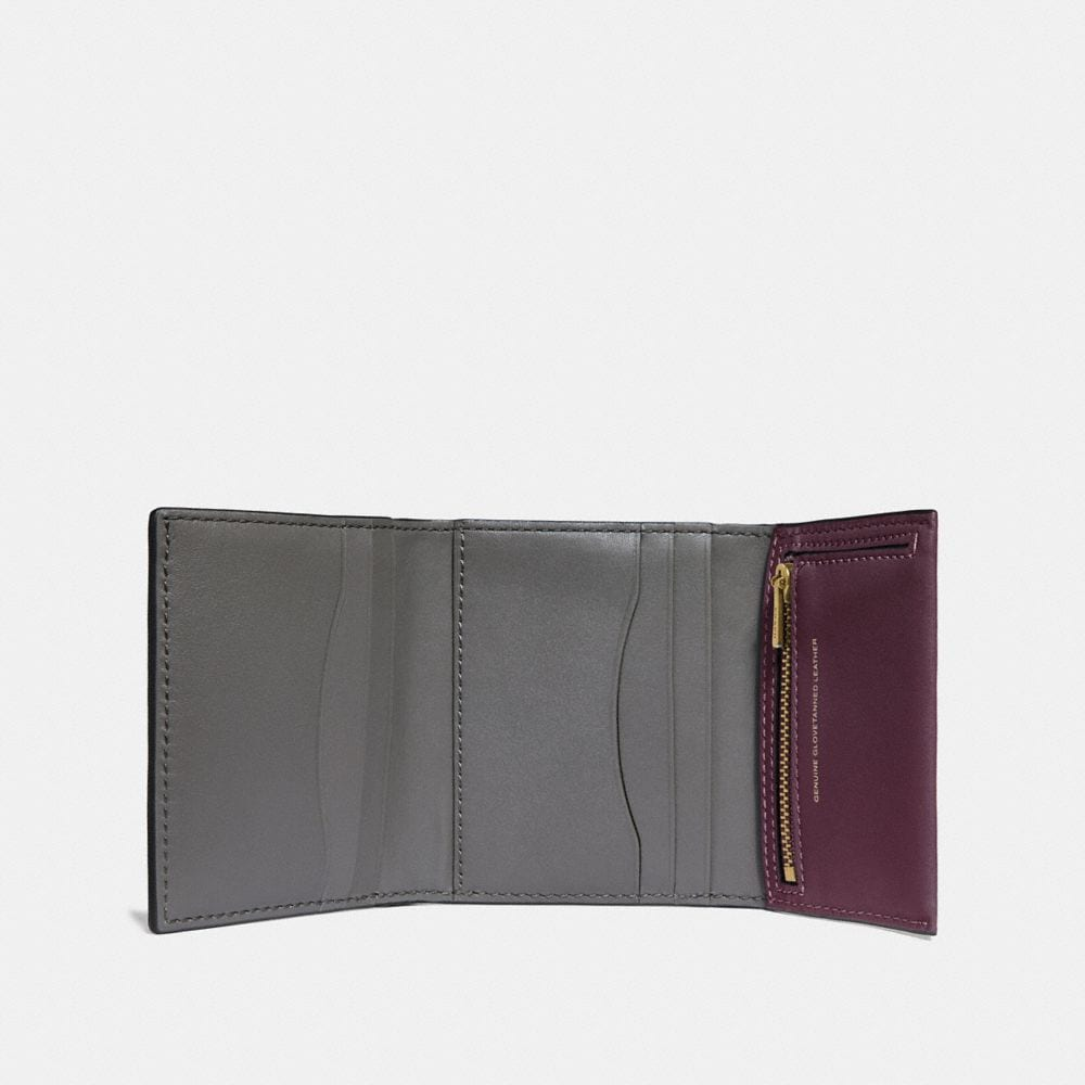 Coach Small Trifold Wallet Alternate View 1