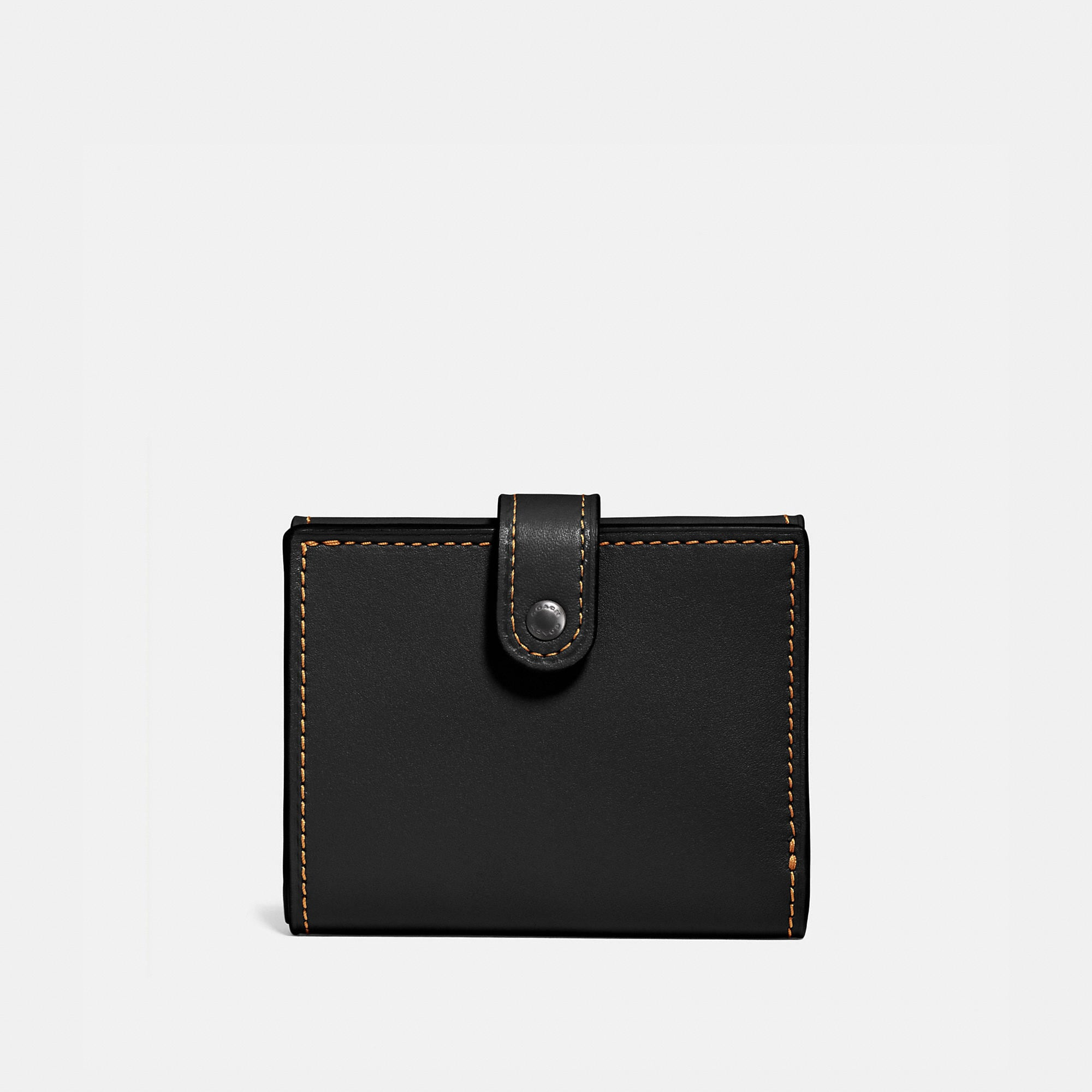 Coach Small Trifold Wallet In Glovetanned Leather