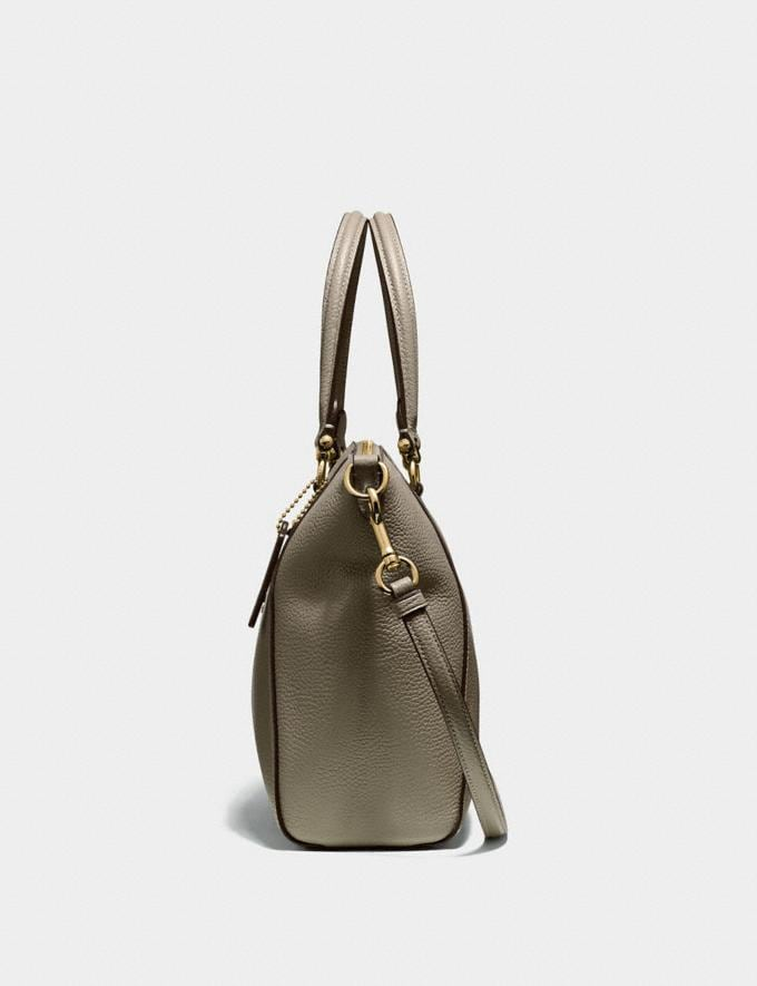 Coach Prairie Satchel Gold/Moss SALE Women's Sale Alternate View 1