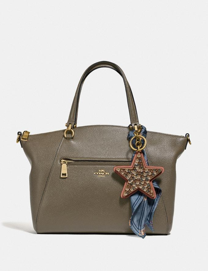 Coach Prairie Satchel Gold/Moss SALE Women's Sale Alternate View 3