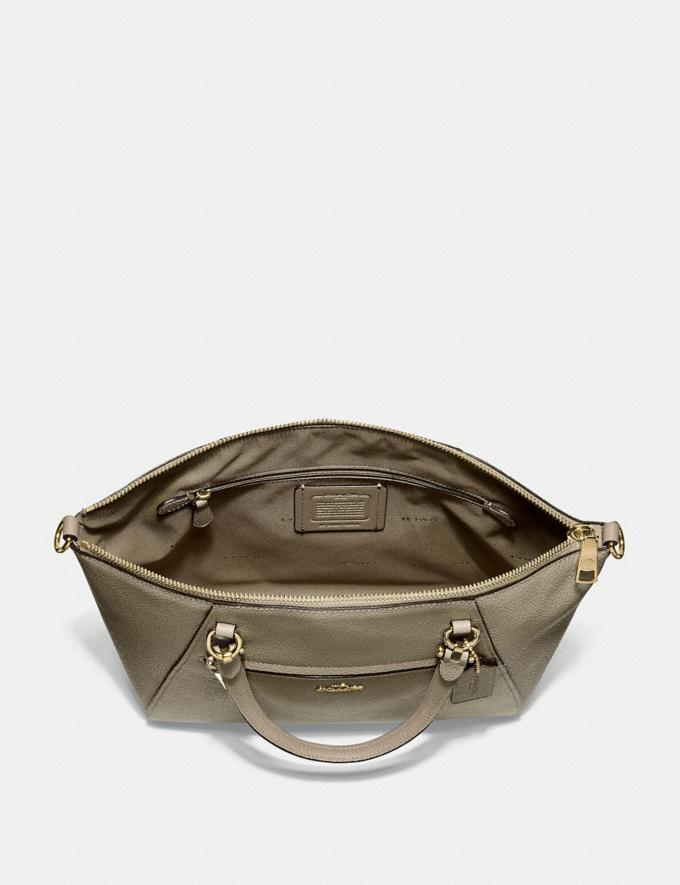 Coach Prairie Satchel Gold/Moss SALE Women's Sale Alternate View 2