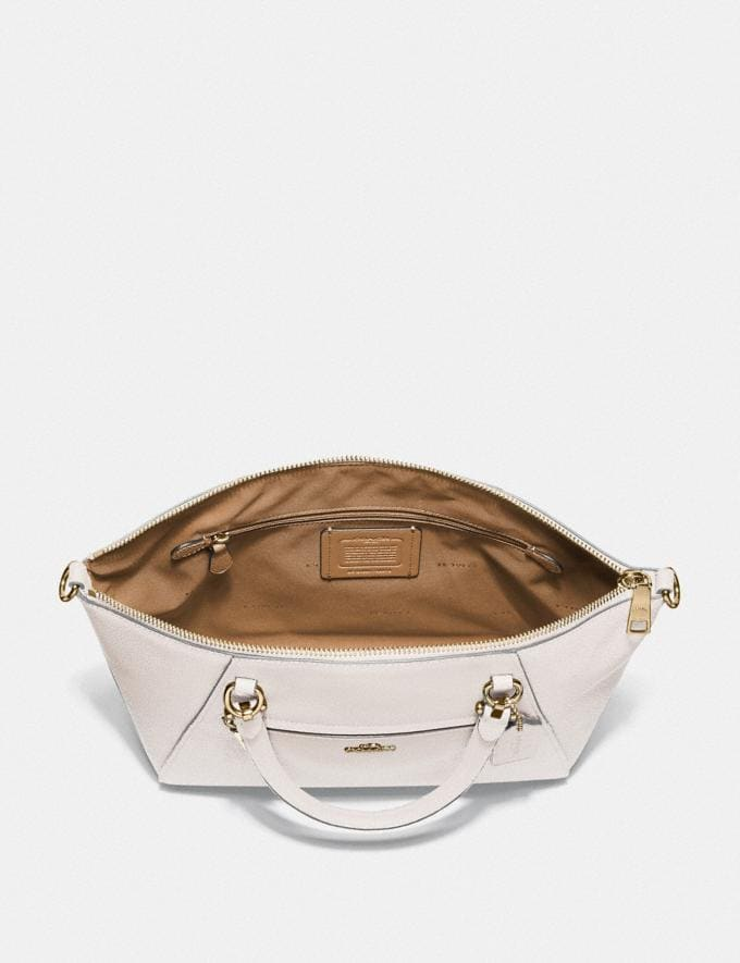 Coach Prairie Satchel Chalk/Light Gold Personalise For Her Bags Alternate View 2