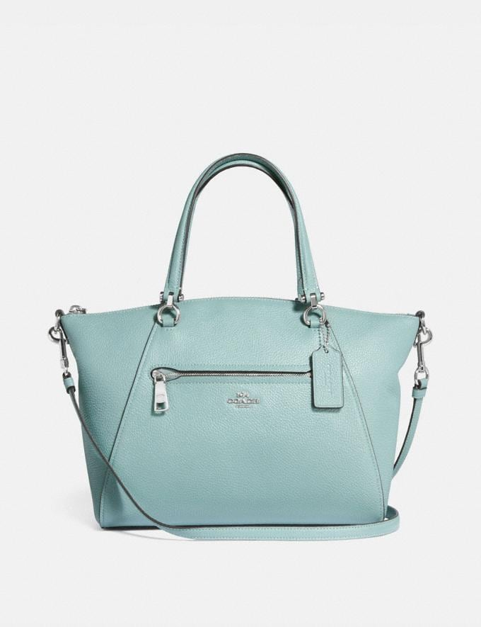 Coach Prairie Satchel Sage/Silver SUMMER SALE Women's Sale New to Sale New to Sale