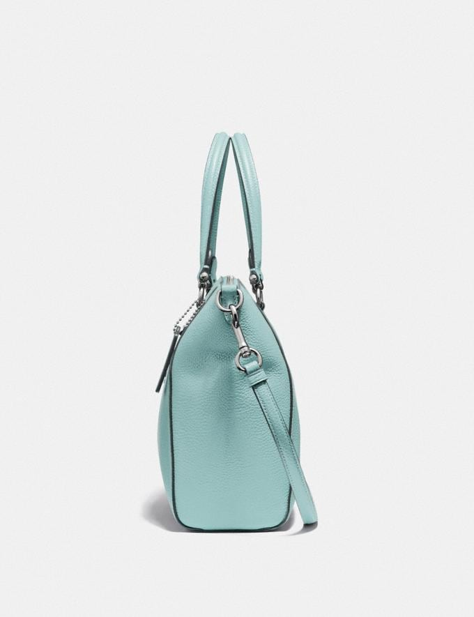 Coach Prairie Satchel Sage/Silver SUMMER SALE Women's Sale New to Sale New to Sale Alternate View 1