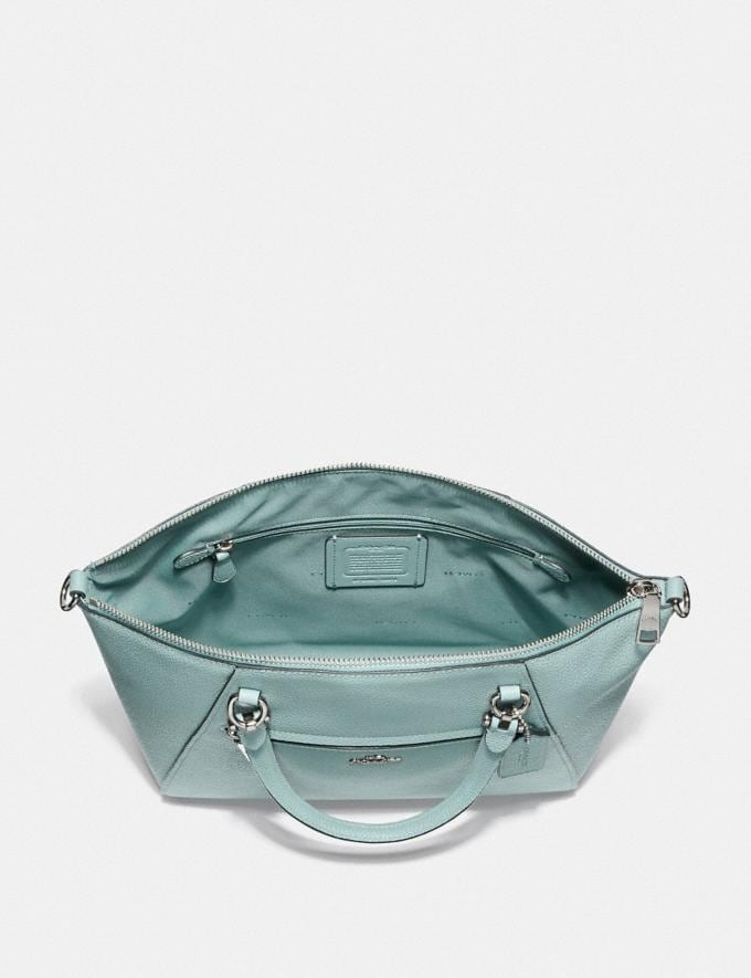 Coach Prairie Satchel Sage/Silver SUMMER SALE Women's Sale New to Sale New to Sale Alternate View 2