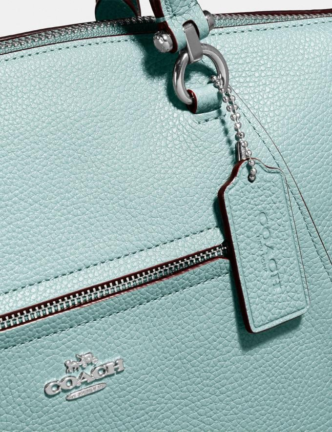 Coach Prairie Satchel Sage/Silver SUMMER SALE Women's Sale New to Sale New to Sale Alternate View 5