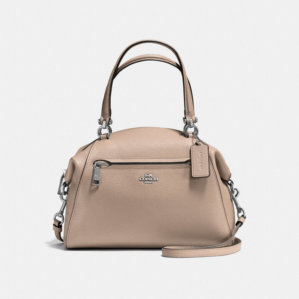 Prairie Satchel in Polished Pebble Leather