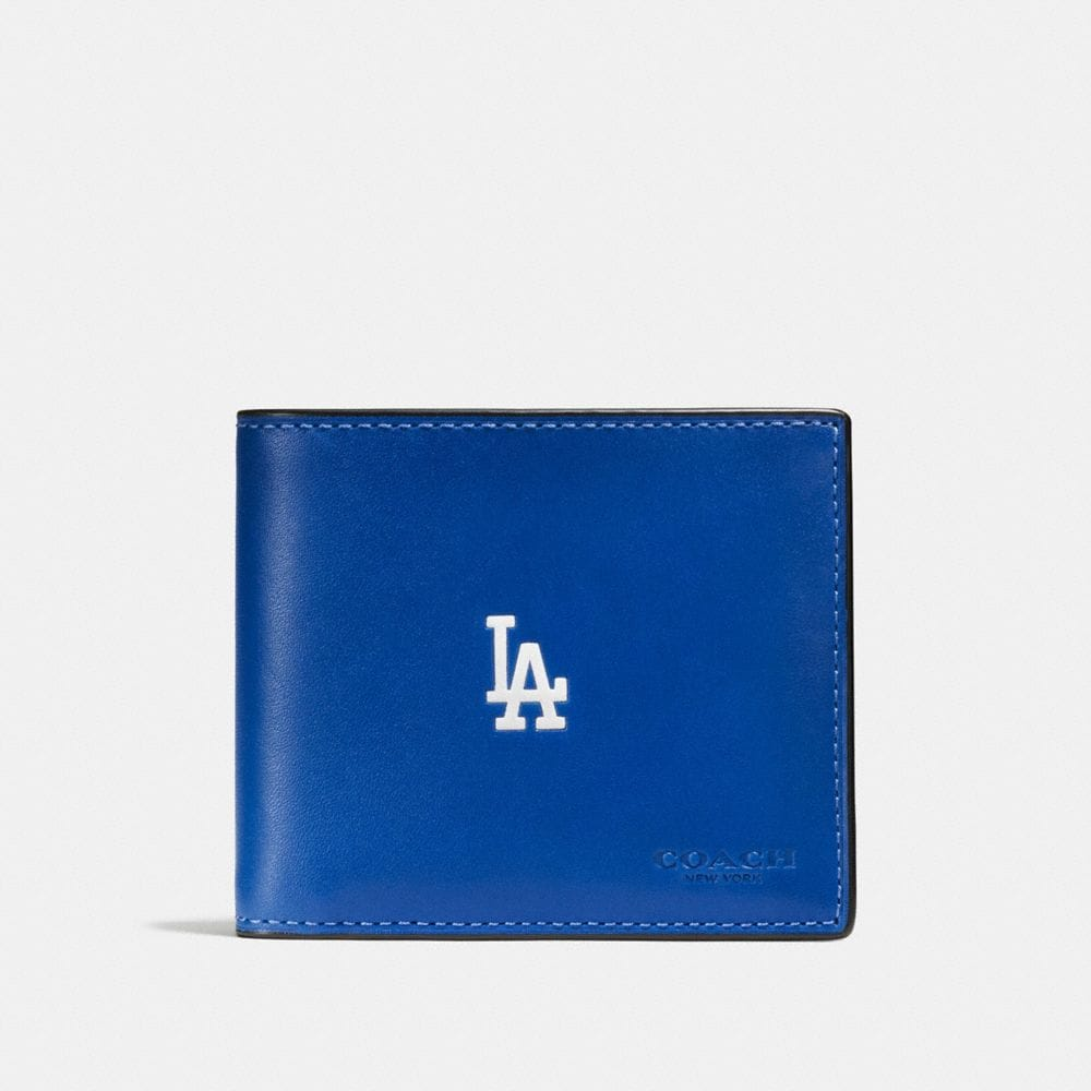 3-IN-1 WALLET IN SPORT CALF LEATHER WITH MLB TEAM LOGO - Visualizzazione alternativa