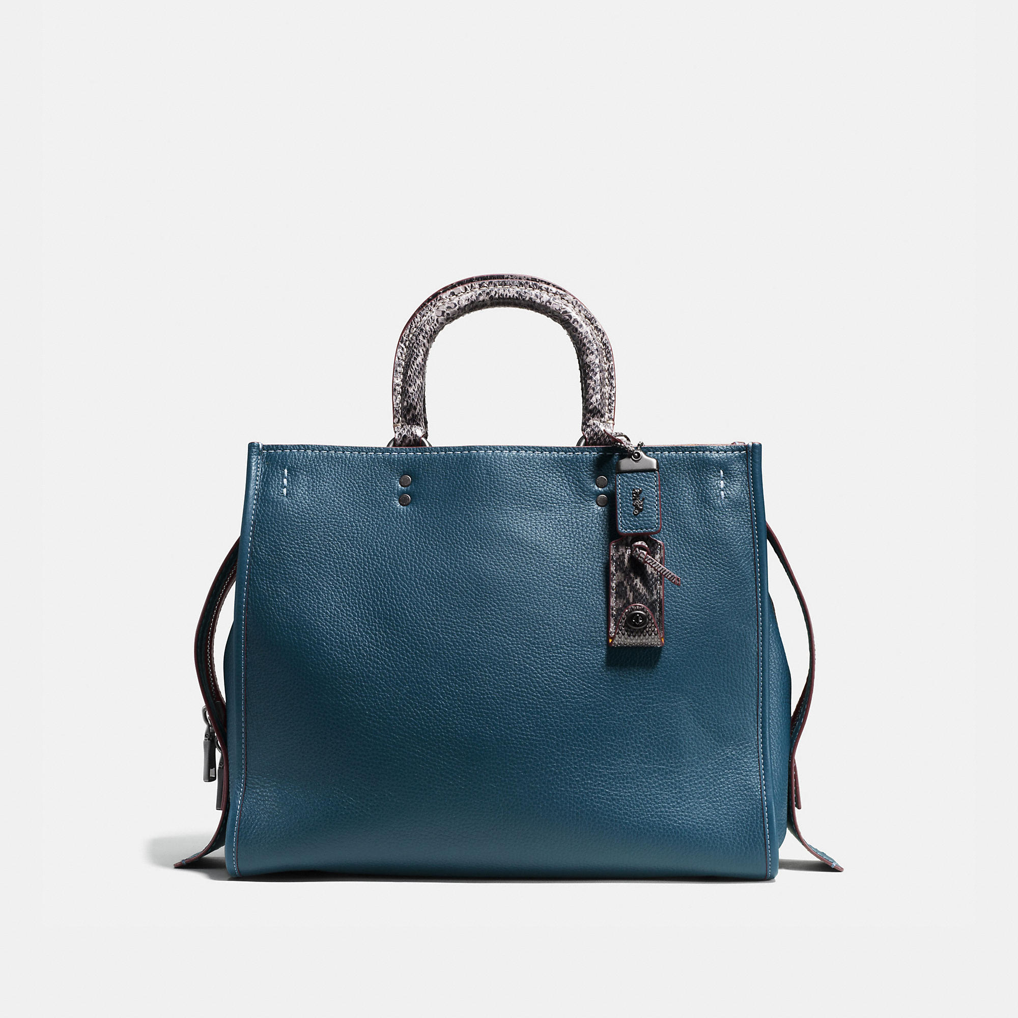 Coach Rogue 36 With Colorblock Snake Detail