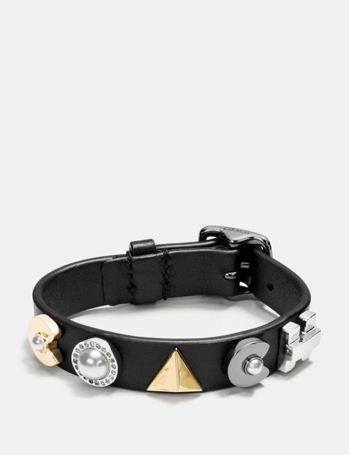Coach Coach Deco Bracelet Black/Silver