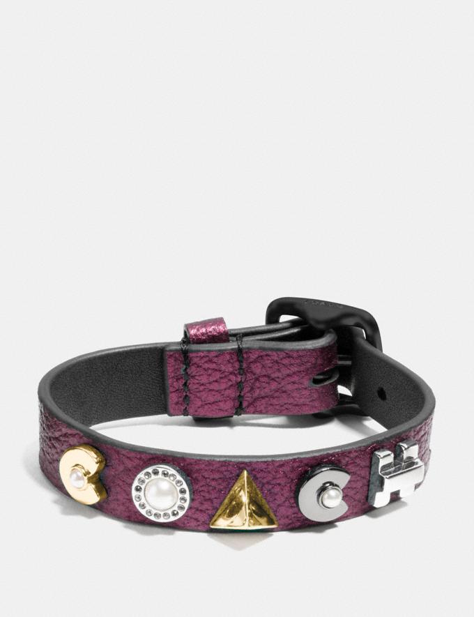 Coach Coach Deco Bracelet Mauve/Silver PRIVATE SALE Women's Sale Jewellery