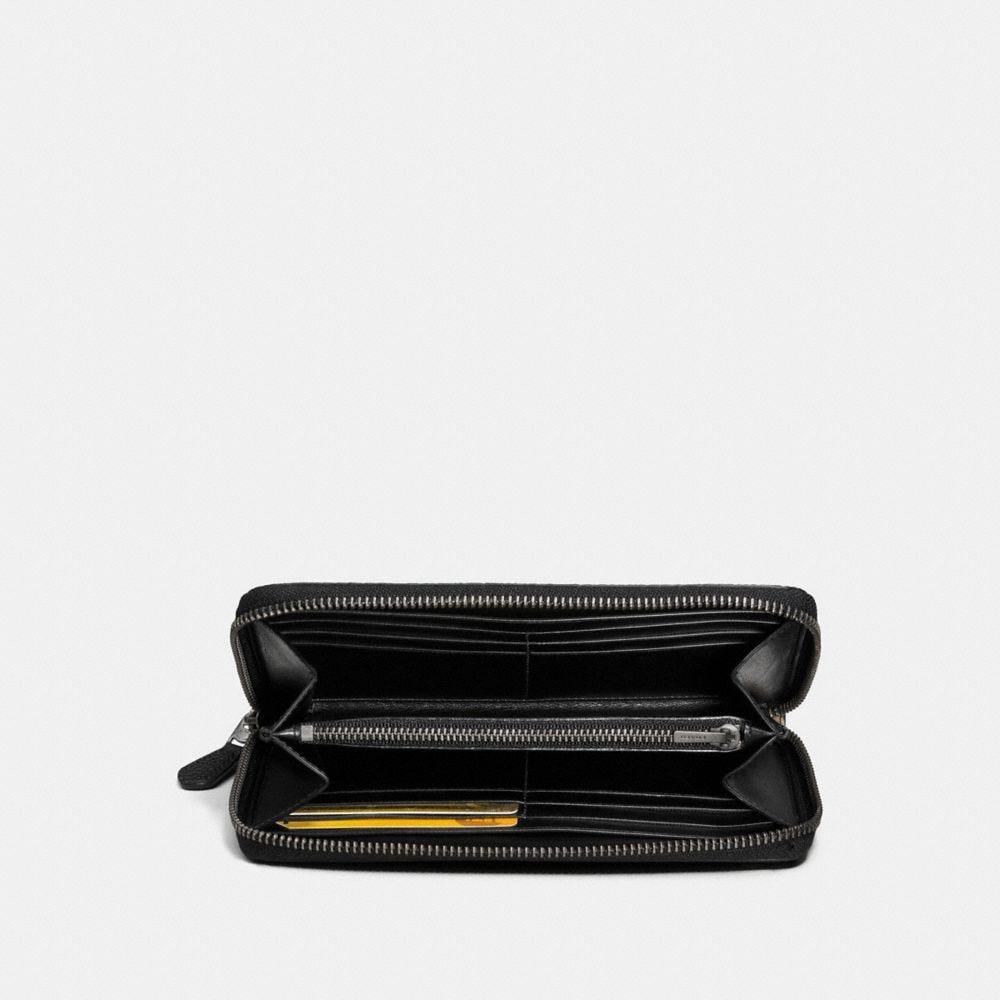Coach Accordion Zip Wallet With Prairie Print Alternate View 1