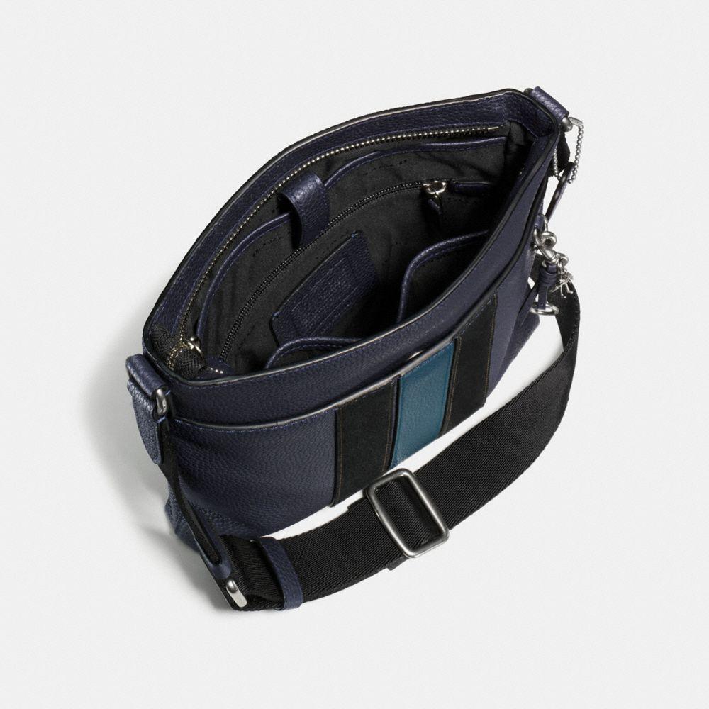 Metropolitan Slim Messenger in Pebble Leather - Alternate View A2