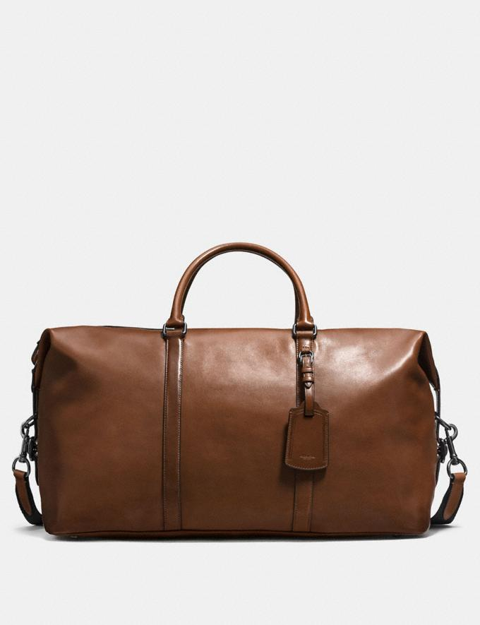 Coach Explorer Bag 52 Dark Saddle/Black Antique Nickel